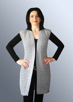 73 Most Popular Women and Baby Knitting Patterns in 2019 - Outfit Trends Crochet Cardigan Pattern, Tunic Pattern, Baby Knitting Patterns, Crochet Woman, Knit Crochet, Diy Crafts Knitting, Mantel, Sweaters For Women, Trends