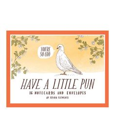 Another great find on #zulily! Have a Little Pun Note Card Set #zulilyfinds