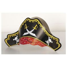 Pirate Hats (Pack of 4) by Party2u, http://www.amazon.co.uk/dp/B000UV5KVI/ref=cm_sw_r_pi_dp_8Ruerb1T6JCRB
