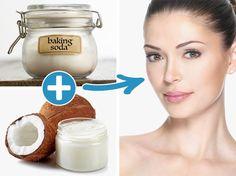 It's baking soda! Sodium bicarbonate, a powder with small […] Beauty Salon Logo, Beauty Salon Interior, Baking Soda Uses, Beauty Background, Sodium Bicarbonate, Body Treatments, Beauty Hacks Video, The Cure, Skin Care