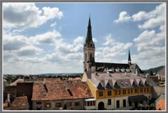 View from Heroes' Tower - Kőszeg, Hungary Hungary, Budapest, The Good Place, Places To Visit, Tower, Spaces, World, Building, Awesome
