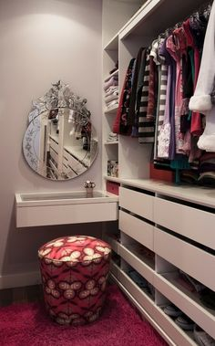 high & low drawers