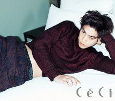 Sung Joon - Ceci Magazine November Issue '14