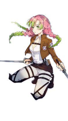 Drawing Anime Clothes, Manga Drawing, Manga Girl, Anime Art Girl, Otaku Anime, Anime Naruto, Anime Crossover, Anime Artwork, Slayer Anime
