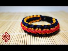 Stormdrane's Stair Step Stitch Cobra Knot Paracord Bracelet Tutorial - YouTube