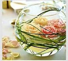 """Bubble Ball vases are fast becoming a favorite choice of Brides when it comes to centerpieces! The round fish bowl shape can be incorporated into design using vase fillers, fresh flowers, floating candles, pillar candles, or even live fish! Adding Fairy Lights is a great option. Creating dramatic centerpiece designs using this style vase is easy! 8"""" Diameter. Just message me if you need more. I'm happy to help! Free Shipping in the Continental US"""