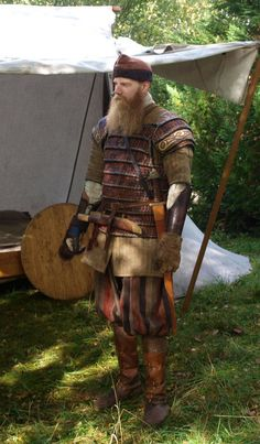 Fantastic viking armor