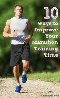 10 ways to improve your marathon training time