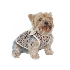 Leopard Print Dog T-Shirt - Tip Top Accessory Shop