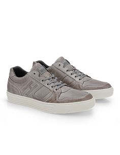 #HOGANREBEL Men's Spring - Summer 2013 #collection: worn effect leather #sneakers.