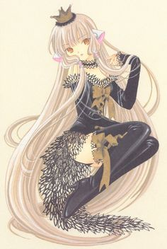 Freya, Elda (Chii's) twin from Chobits. Such a cute anime!