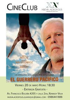MAY 20 El Guerrero Pacífico - Cine Club