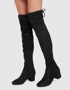 Abbie Low Block Over-The-Knee Boots Mid Calf Boots, Knee High Boots, Over The Knee Boots, Shoes Too Big, Iconic Australia, Forever New, Boots Online, Sale Items, Block Heels