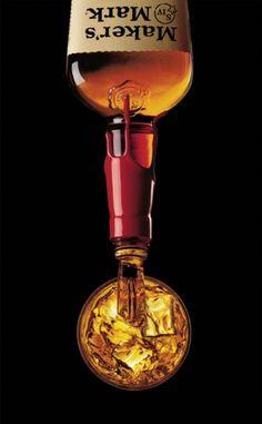 Maker's Mark. Kentucky Straight Bourbon Whisky.