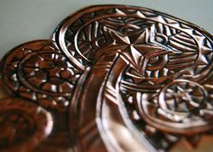 Embossed Copper Stars by adamtrest on Etsy, $35.00