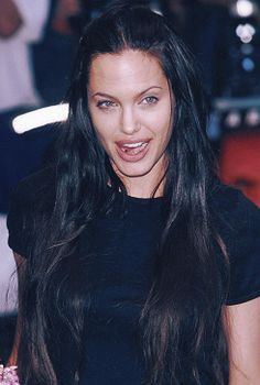 young rebellious angelina jolie