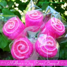 Sugartown Sweets: Mother's Day Marshmallow Roses