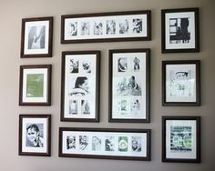 13 Absolutely Perfect Photo-Walls to Inspire You ...