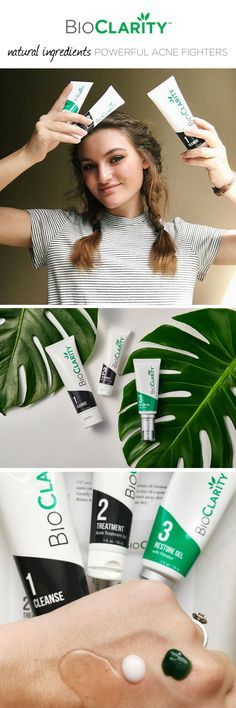 Packed with powerful plant extracts, BioClarity is the naturally better way to beat acne. Join our clear skin family today - use code PIN995 to save $20 on your first month + free shipping!