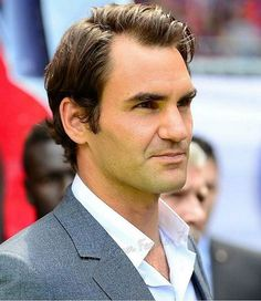 Roger Federer …