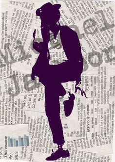 Michael Jackson poster print