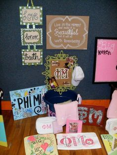 Phi Mu Big/Little gifts