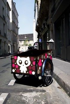 Customize the children box Christiania Bike, Professional Painters, Cargo Bike, Baby Strollers, Children, Box, Painting, Tricycle, Baby Prams