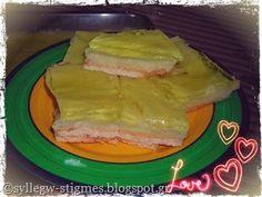 Να κεράσω γλυκό ψυγείου με μπισκότο, κρέμα μιλφέϊγ & ζελέ μπανάνα; - ♫ΣΥΛΛΕΓΩ ΣΤΙΓΜΕΣ♫ Tacos, Mexican, Ethnic Recipes, Blog, Blogging