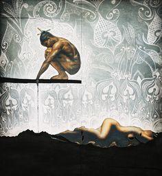 Maori folklore The Warrior and The Lover, Polynesian Art, New Zealand Art, Nz Art, Maori Art, Indigenous Art, Sculpture Art, Metal Sculptures, Abstract Sculpture, Bronze Sculpture