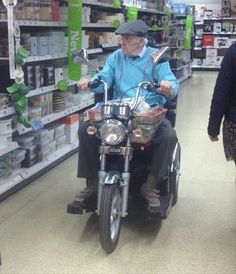 Old People Can Do Anything