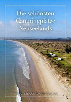 Neuseelands Natur hat uns immer wieder fasziniert und gefesselt. Besondern gut gefallen hat es uns wie flexibel wir mit dem Camper unterwegs waren und wie viele wundervolle Orte wir dadurch kennen lernten. Hier kommen unsere schönsten Campingplätze. Country Roads, Beach, Outdoor, Wonderful Places, Explore, Nature, Travel, Nice Asses, Outdoors