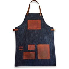 Apron is made using the highest quality denim, hardware and Horween Leather; all materials are sourced from the USA and handmade in San Diego, CA. Apron is self adjusting, making it a one-size-fits-al