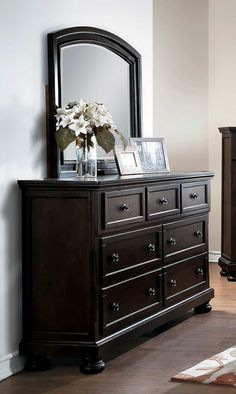 Bermuda Traditional Modern Bedroom Set Queen Storage Bed Dresser Mirror 2 Nightstand Chest in Brown Grey *** Click photo for more details. (This is an affiliate link). Bedroom Furniture Sets, Bedroom Sets, Home Decor Bedroom, Mirror Bedroom, Bedroom Dressers, Bedrooms, Best Dresser, Dresser With Mirror, Gray Dresser
