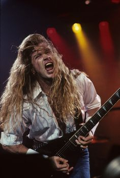 Dave Mustaine-Megadeth......