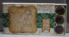 Kerstin's kleine Bastelwelt: Ein nostalgisches Set - Mädchen mit Reh, #toffifee, Reprint, millas flicka med radjur