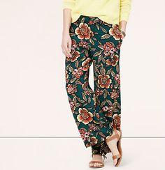 Paradise Wide Leg Ankle Pants from Ann Taylor Loft