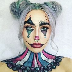 Clown Makeup Body Art 8 Ideas Clown Makeup Makeup Body Art