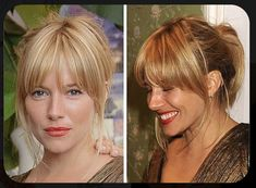 New Hair Cuts Layers Long Bangs Sienna Miller 70 Ideas Hairstyles With Bangs, Pretty Hairstyles, Full Fringe Hairstyles, Boho Hairstyles, Wedding Hairstyles, Hair Day, New Hair, Hair Inspo, Hair Inspiration