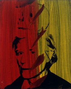 Self-Portrait with Skull (1978) Andy Warhol #PopArt♦️More Pins Like This At FOSTERGINGER @ Pinterest