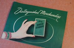 Vintage 1950s S & H Green Stamps Catalog by retrowarehouse on Etsy, $15.00
