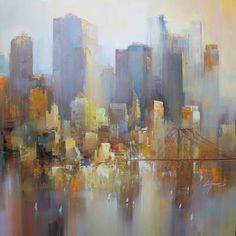 43 – New York by Wilfred Lang | Acrylic on canvas