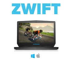 What is it - Zwift. For my wintertime workouts. It's only money, right? #zwift #cycling #indoor #training