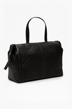 Lizi Laser Faux Leather Tote Bag | Bags & Purses | French Connection