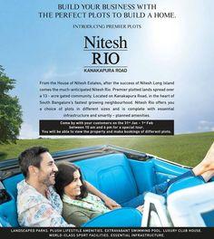 Nitesh Rio - Residential Plot in Hosakote, Bangalore by Nitesh Estates
