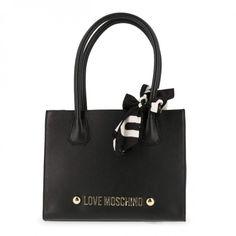 3c08359964 Ais un look de grande dame ce très joli sac à main porté épaule Love  Moschino pour femme pas cher
