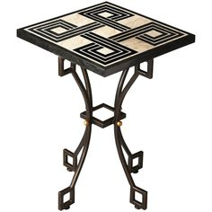 Butler Specialty Metalworks Square Accent Table
