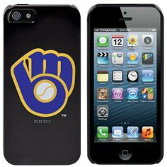 MLB Milwaukee Brewers iPhone 5 Snap-On Case - Black by Football Fanatics. $29.95. Milwaukee Brewers iPhone 5 Snap-On Case - BlackAccess to all ports, controls and featuresOfficially licensed MLB productOne-piece snap-on installationDesigned in the USAPolycarbonate shellLightly textured hard shell construction for comfort and durabilityScreen print graphicsImportedPolycarbonate shellLightly textured hard shell construction for comfort and durabilityOne-piece snap-on installa...