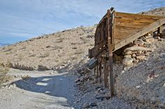 Old mining operation - Death Valley National Park, California