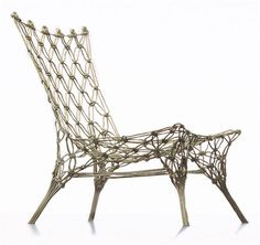 Cappellini - Marcel Wanders Knotted Chair 1000 produced.    now can be produced through Personal Editions Collection, see Marcel Wanders website