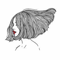 Let your mind wander 🌙 #saraherranz #illustration